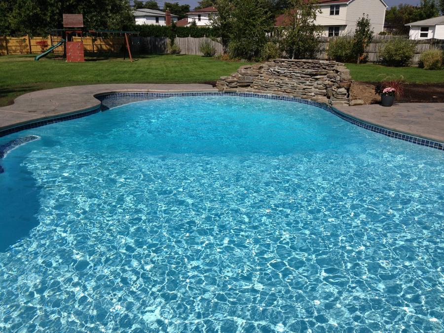 New Pool Plaster Altima White Leisure Craft Pools