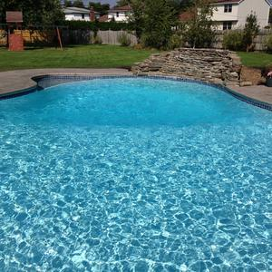 New Pool Plaster Altima White