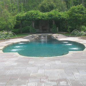 Satin Matrix Emerald Isle Inground Pool