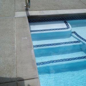 Poured Coping for Inground Pools