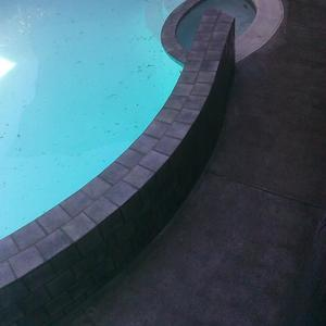 Replaster, New Tile on Waterline & Wall Pool Renovation