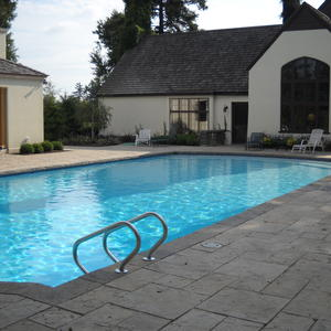 Replaster Luna Quartz White Inground Pool from Leisure