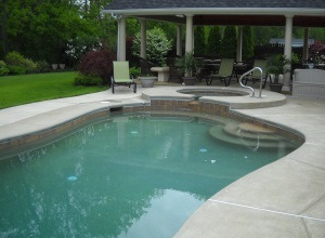 Satin Matrix Pool Finishing